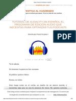 Tutorial para manejar el programa de sonido más popular del mundo