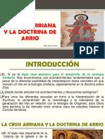 La Crisis Arriana y La Doctrina de Arrio