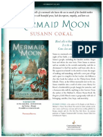 Mermaid Moon by Susann Cokal Press Release