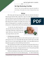 Bài Tập Marketing Căn Bản