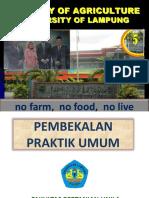 Pembekalan Pu Fp 2019