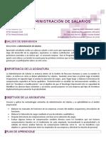 Guion Administracion de Salarios 2014A