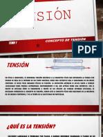 Unidad 2 Tensión