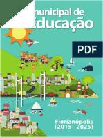 Plano Municipal de Educação - FLorianopolis