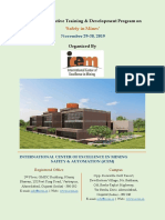 Brochure - 2 Days EDP on Safety in Mines at ICEM, Ahmedabad