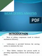 Wear Debris Analysis oil ppt