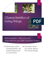 Characteristics of Living Things Lecture Notes.ppt