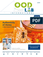 Intertek Article - Honey Authenticity - Sonderdruck