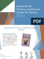 Aplicación de Técnica y Análisis de Campo de Fuerzas