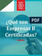 ¿Qué son las Empresas B?