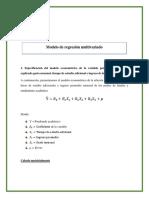 Modelo de Regresión Multivariado
