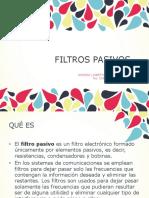 FILTROS PASIVOS