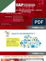 Diseño de productos/servicios y gestión de procesos