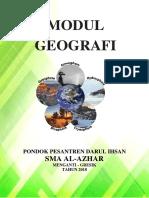 MODUL GEOGRAFI