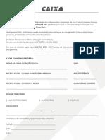 PDF Formulario Para Atualizacao de Cadastro P B