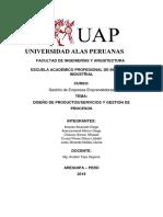 DISEÑO DE PRODUCTOS/SERVICIOS