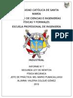 Informe 07 - Física Mecánica Valeria