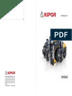 catalogo de generadores kipor
