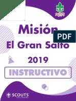 Misión El Gran Salto 2019