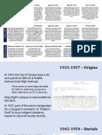 King Historical Response Committee Timeline Presentation v2