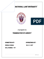 137302645 Termination of Agency