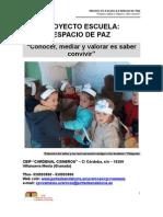 PROYECTO ESCUELA ESPACIO DE PAZ de VILLANUEVA