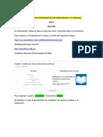 Instructivo Inglés Virtual Niveles 5 y 6 2019-2