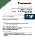 PANASONIC KX-NT543KX