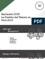 Barometro DCH_La Gestion Del Talento en Peru 2018
