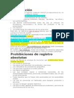 Prohibicion Del Registro de La Marca