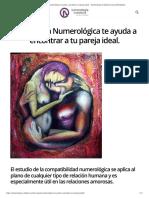 La Sinastría Numerológica