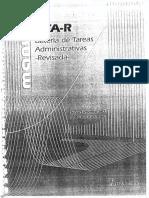 Bateria de Tareas Administrativas Revisada BTA R