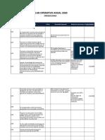 Copia de Poa Upe 2020 Wara2 Formatos Programacion Fisica Presupuesto