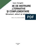 Cerghit I. Sisteme de Instruire Alternative Si Complementare