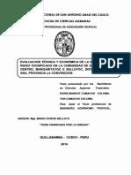 Riego Quillabamba