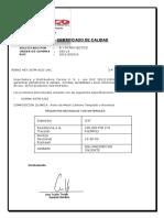 Cert_calidad Perno Hex a325 Unc 34 x 3 Galv Cal