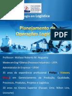 Planejamento de Oper.logísticas Aula 1 e 2