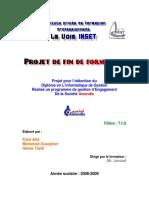 Rapport de Projet de Fin de Formation
