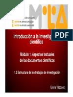 Estructura Trabajos Investigacion
