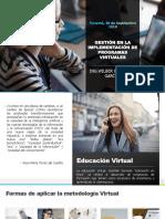 Experiencias en La Implementación de Programas Virtuales