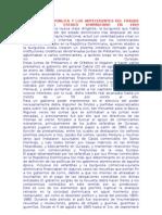 LA SEGUNDA REPÚBLICA Y LOS ANTECEDENTES DEL FRAUDE HARTMONT AL ESTADO DOMINICANO EN 1869