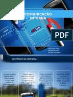 Campanha de Comunicação Interna TIM