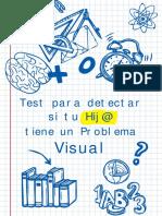 test para detectar si tu hijo tiene problema visual