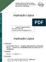 Aula Implicação Lógica Slide