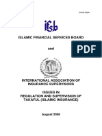 Takaful Issues - IfSB Paper