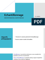 Estimation Echantillonnage