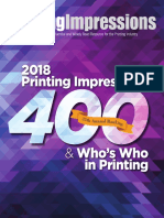 Printing Impressions 400 Ranking
