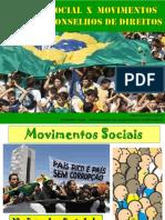 Serviço Social x Movimentos Sociais e Conselhos de Direitos