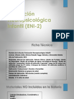 Evaluacion Neuropsicologica Infantil ENI 2 Presentacion