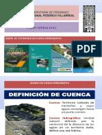 SESION 02 y 03 MANEJO DE CUENCA HIDROGRAFICA.pptx